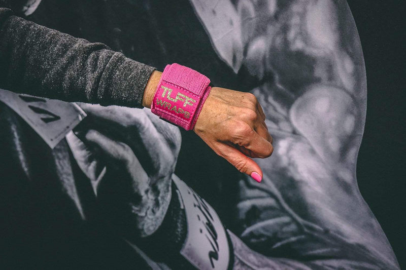 Pink & Gold Villain Mini Wrist Wraps