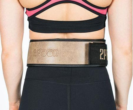 "2POOD - ""The Ranch"" Straight Weightlifting Belt"