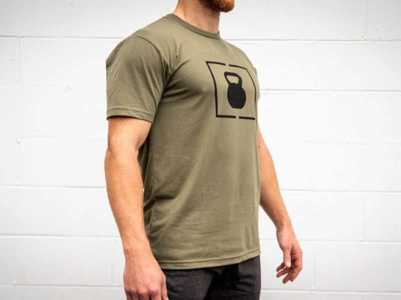 PR Green Kettlebell Patch T-Shirt