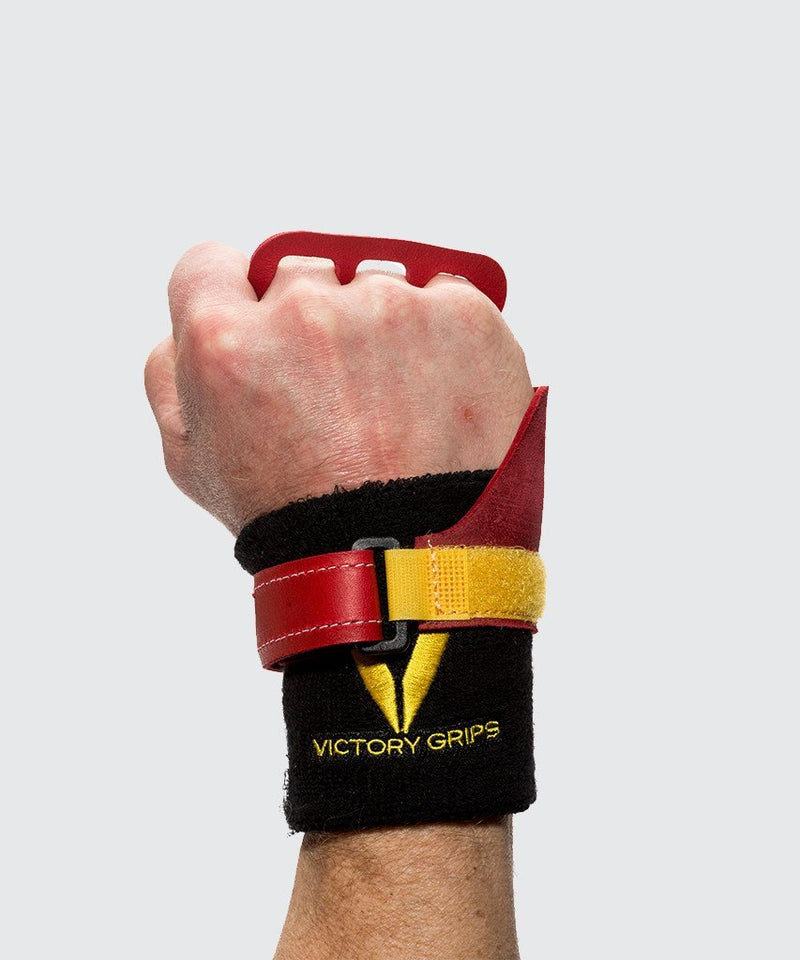 Victory Grips hand grips wristbands for crossfit