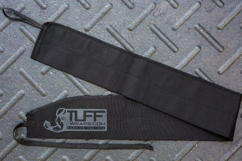 Tuff Wraps - Black Opps Fabric Wrist Wrap Support