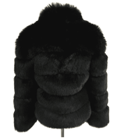 ZADORIN Black Faux Fur Jacket