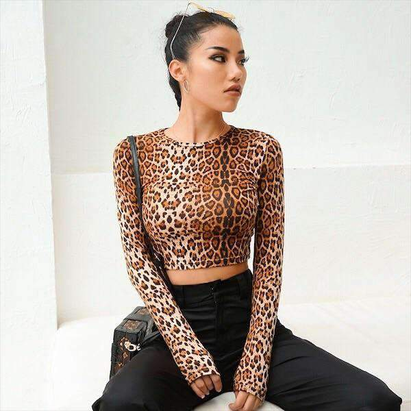 DNA Leopard Top