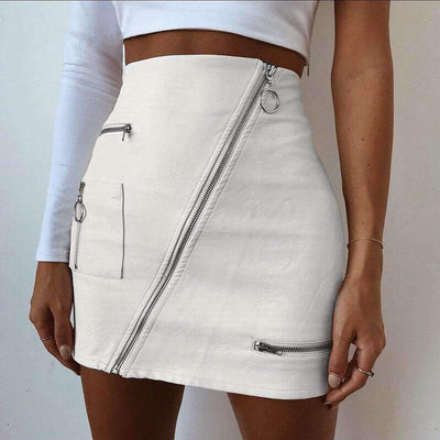 Marley Faux Leather Mini Skirt