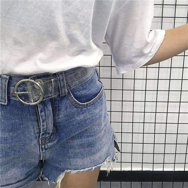 Zora Transparent Belt