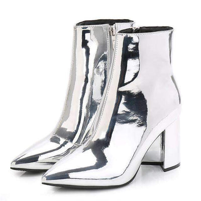 JADY RODE Metallic Boots