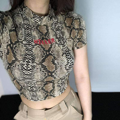 Abstract Snake Top