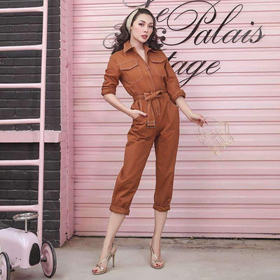 Louloud Denim Jumpsuit
