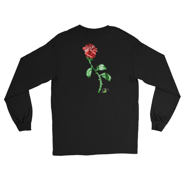 "RIP Limited ""RIP stamped ROSE"" LONG-SLEEVE T-SHIRT"