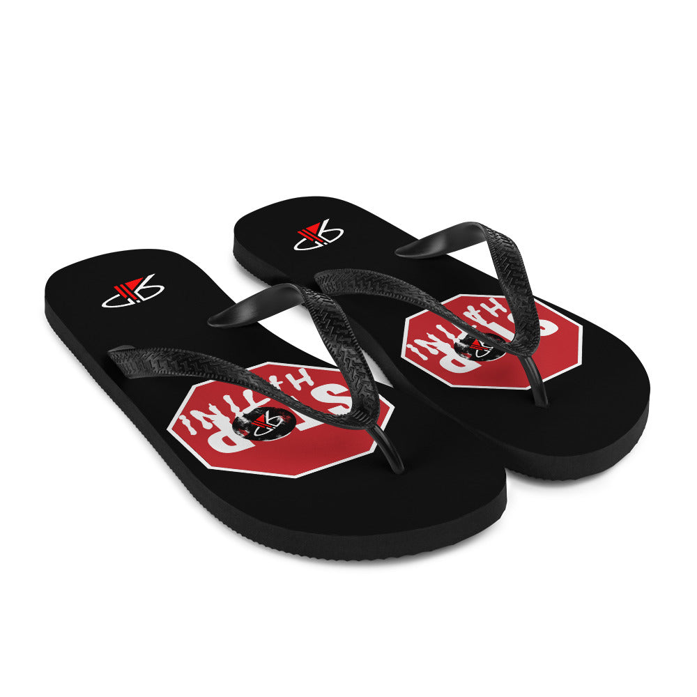 "RIP Limited ""STOP Hatin"" FLIP-FLOPS"
