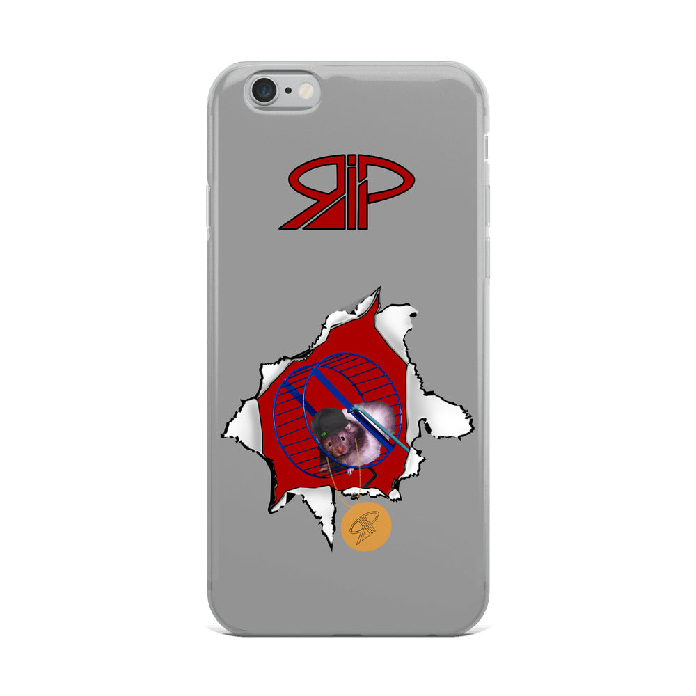 "RIP Limited ""1-HP (one Hamster power)"" IPHONE CASE"