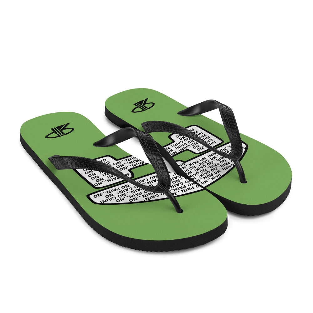"RIP Limited ""NO PAIN...NO GAIN!"" FLIP-FLOPS"
