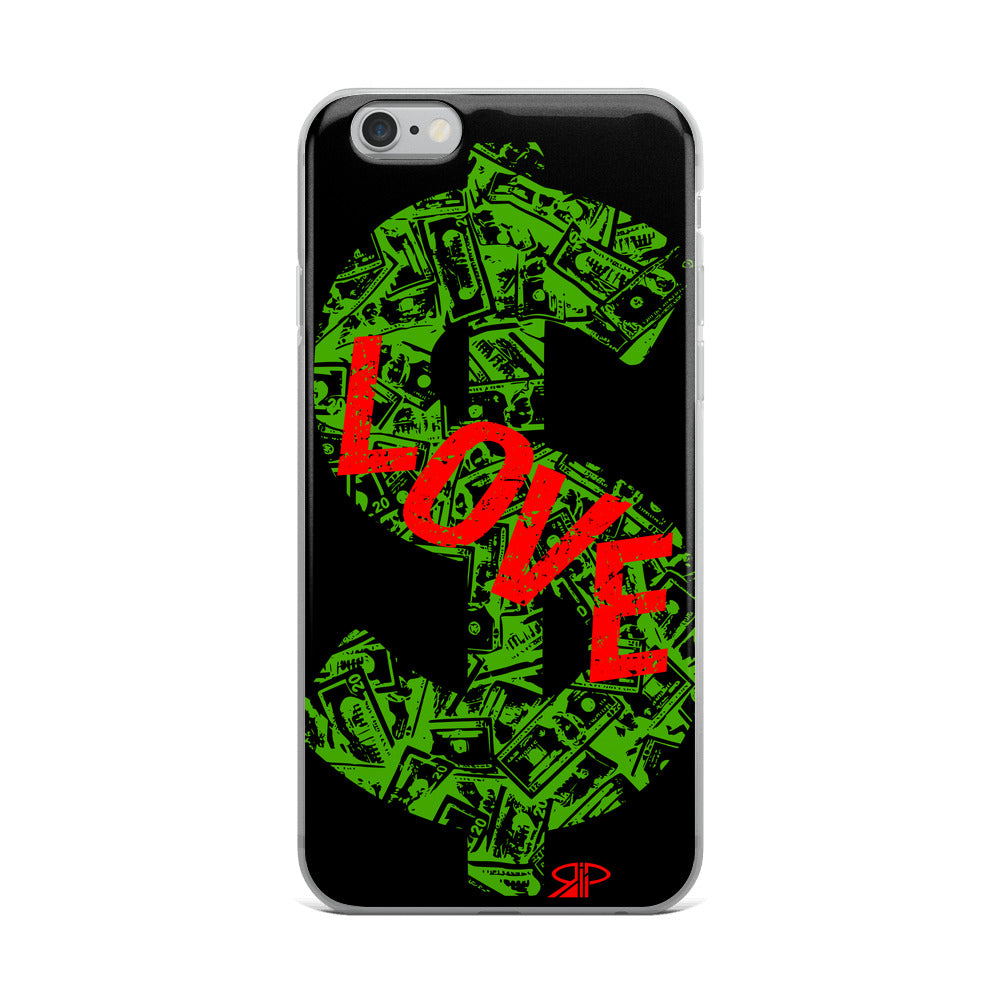 "RIP Limited ""I LOVE $"" IPHONE CASE"