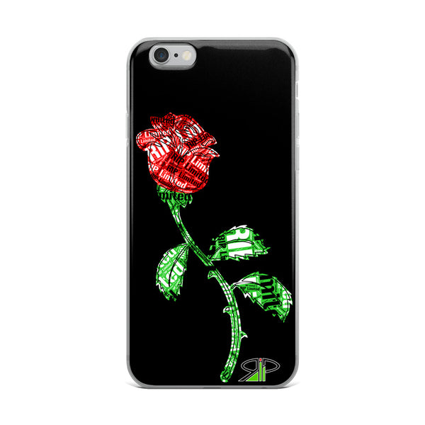 "RIP Limited ""RIP stamped ROSE"" IPHONE CASE"
