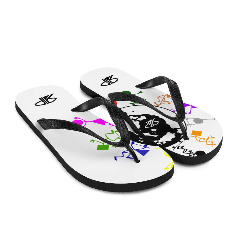 "RIP Limited ""SkateBoarders Around The World"" FLIP-FLOPS"