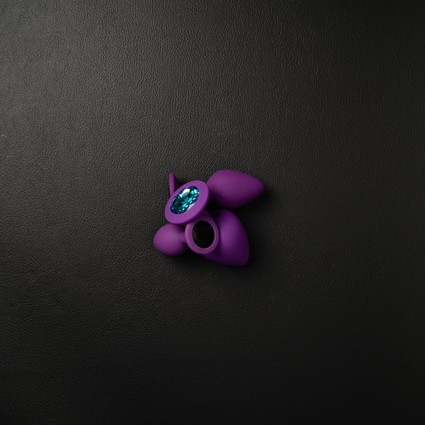 Medium Purple Silicone Butt Plug