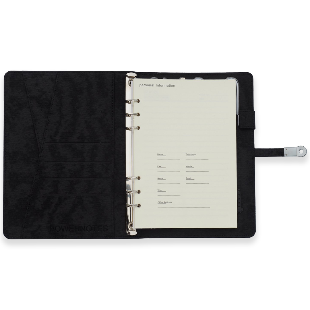 Powernotes 2.0 in Board Room Black