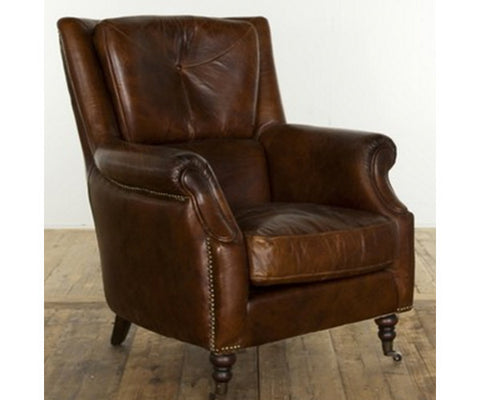 BRISTOL leather arm chair