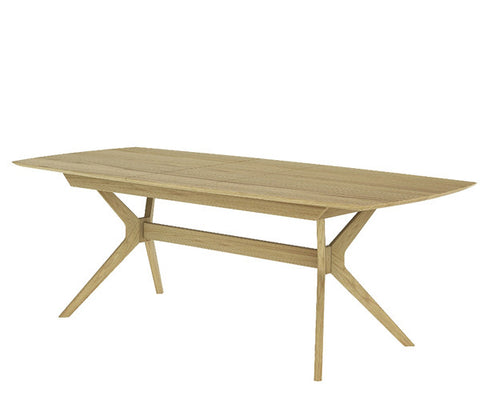 Denmark extendable dining table