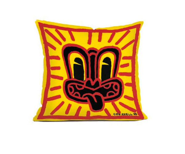 Dick Frizzell Red Haring Cushion U2013 Stacks Furniture Store