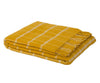 Laxo Shetland Wool Throw - yellow