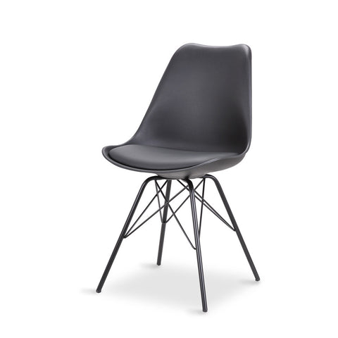 Rake Dining Chair - Three Colours