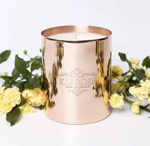 Kearose Deluxe Rose Gold Candle