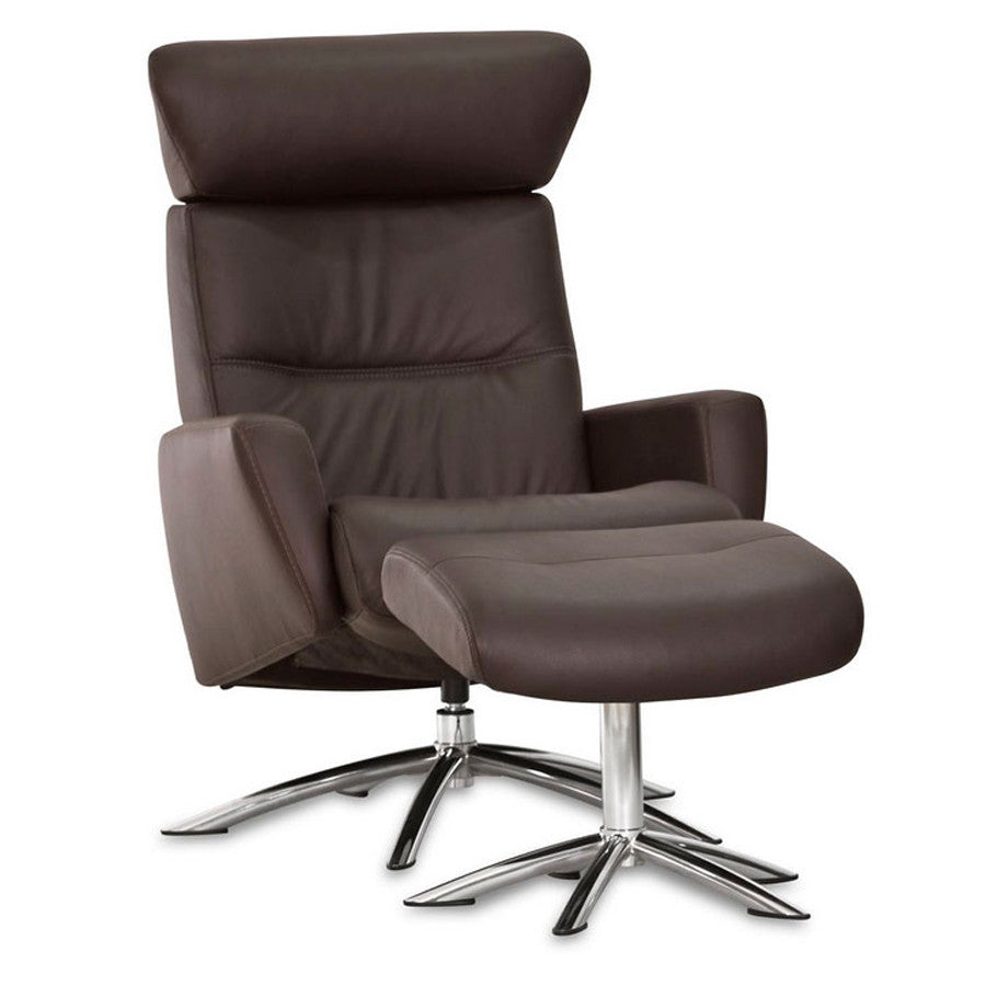 Space 52.42 Recliner & Ottoman by IMG Furniture