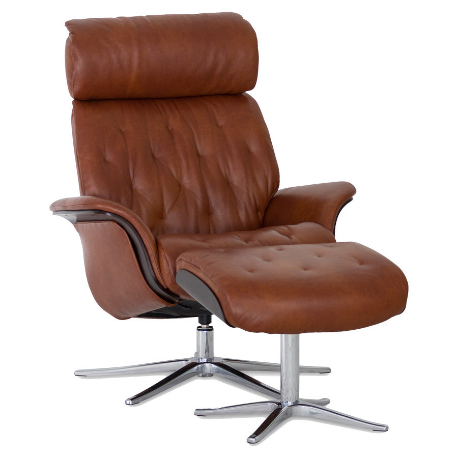 Space 59.59 Recliner & Ottoman by IMG Furniture