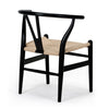 Wishbone chair - black