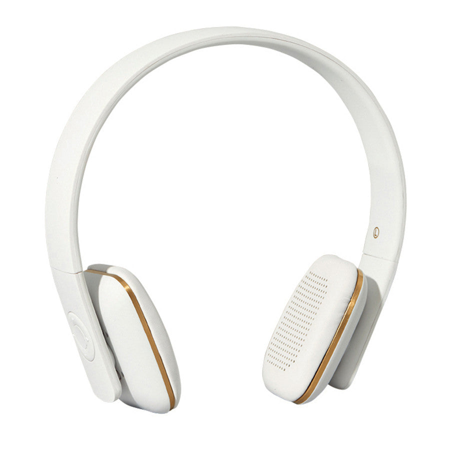 Kreafunk aHead wireless headphones - white