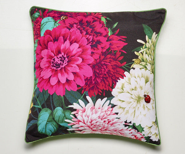 LUXOTIC Bella Rosa Cushion - Black