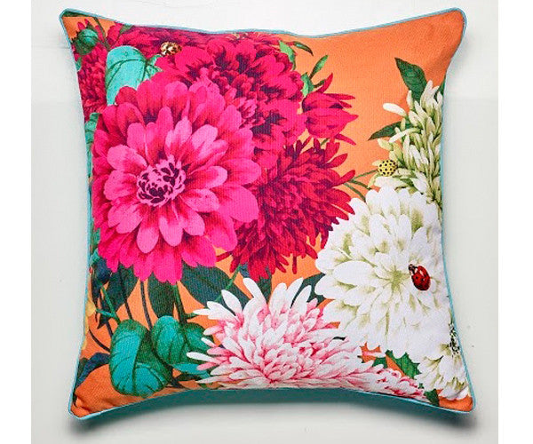 LUXOTIC Bella Rosa Cushion - Tangerine
