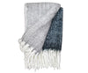 Bliss mohair blend throw