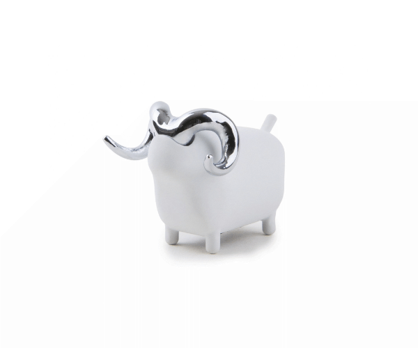 Sheep Ring Holder - Chrome
