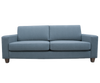 COCO 3 seat sofa - wearing Dolly Cement