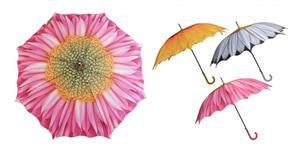 Flower Umbrella - Assorted Design
