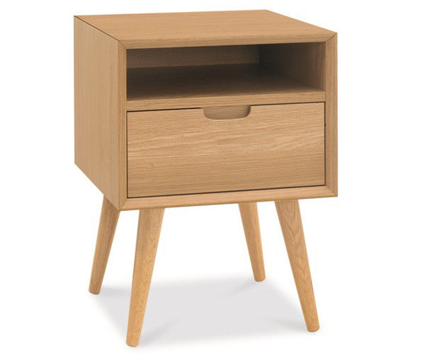 Oslo square bedside table