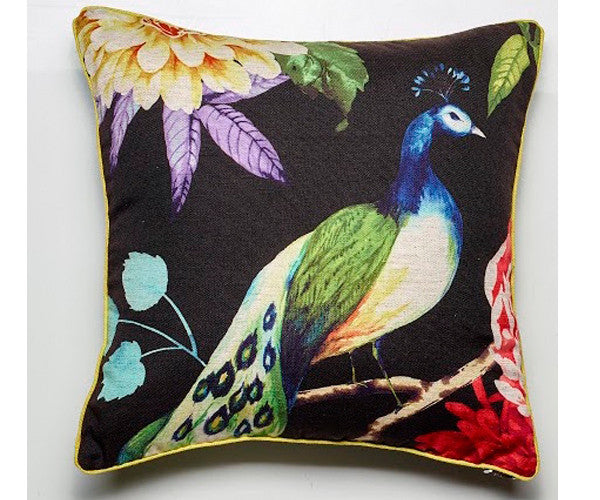 LUXOTIC Peacock Cushion