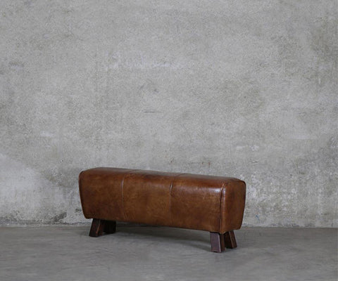 Leather Pommel Bench