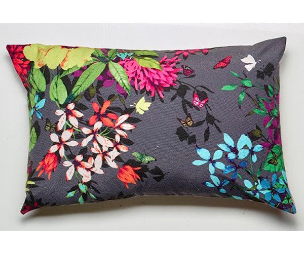 LUXOTIC Tropicana Cushion - Charcoal