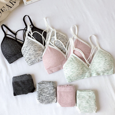 Sports Bra & Panties Set