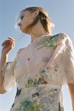 Load image into Gallery viewer, LEONORA SILK ORGANZA DRESS | HAND PAINTED TO ORDER