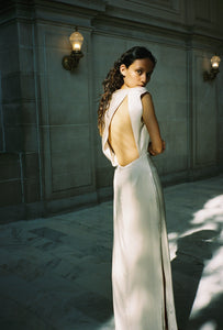 KAMPERETT | LOCKWOOD SILK GOWN | IVORY