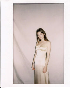 KAMPRETT | Sloan Bra Slip Dress | Champagne