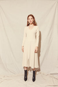 KAMPERETT | Crux Knit Dress | Champagne