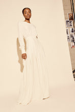 Load image into Gallery viewer, KAMPERETT | Harper Silk Maxi Dress | Ivory