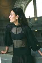 Load image into Gallery viewer, MEIERE SILK ORGANZA BLOUSE (PRE ORDER)
