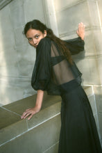 Load image into Gallery viewer, KAMPERETT MEIERE SILK ORGANZA BLOUSE