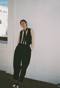 ANAISE x KAMPERETT WOOL SUIT VEST